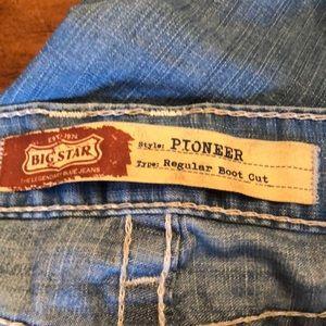 Men's Big Star Pioneer boot cut jeans 33R